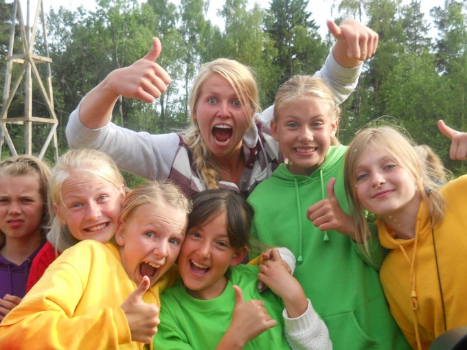 Camp Risøya deltagere
