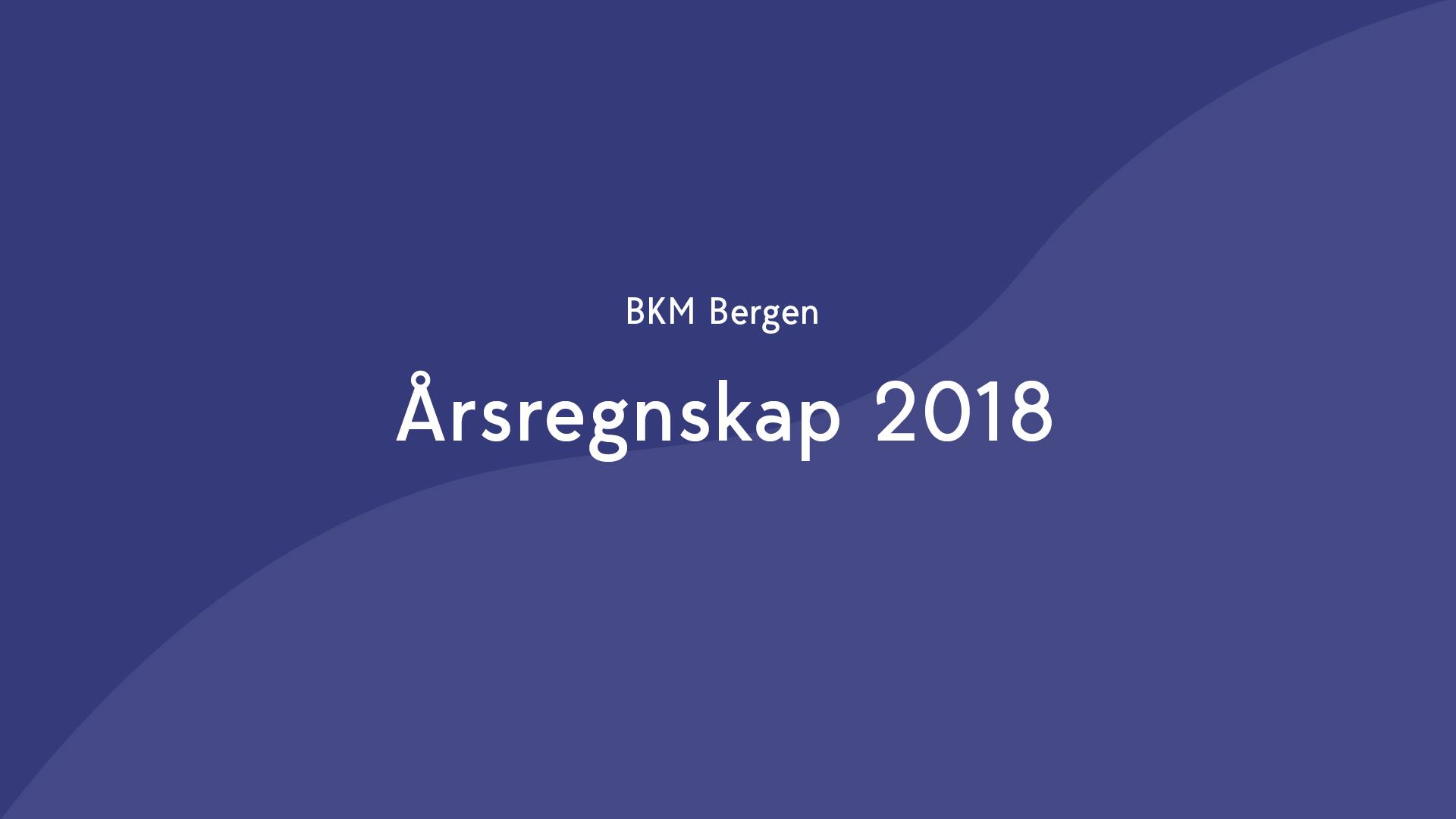Årsregnskap 2018